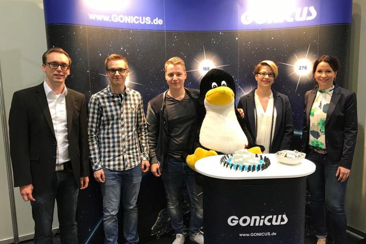 GONICUS freut sich über die tolle Ausbildungsmesse 2017